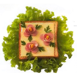 бутерброд розы