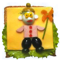 бутерброд пожарник