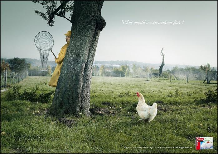 Креативная реклама еды