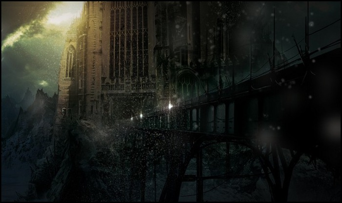 Фантастические миры художника Бастиана Гриве(Bastien Grivet)