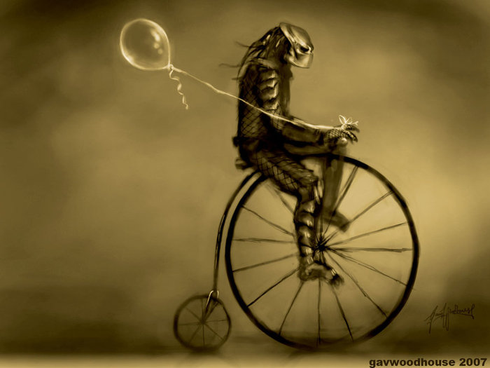 Predator_on_a_Penny_Farthing_by_gavwoodhouse (700x525, 49 Kb)