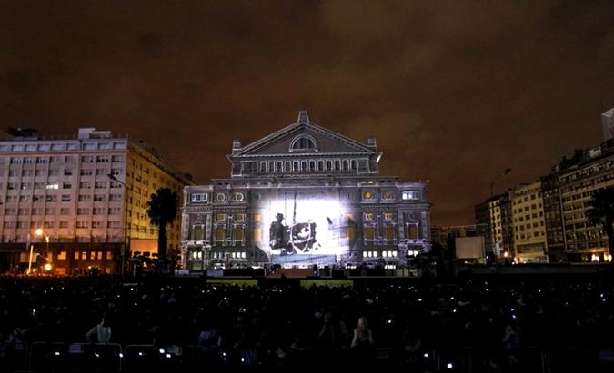 Театро Колон открыли в Аргентине, Буэнос-Айрес, 24 мая 2010 года.