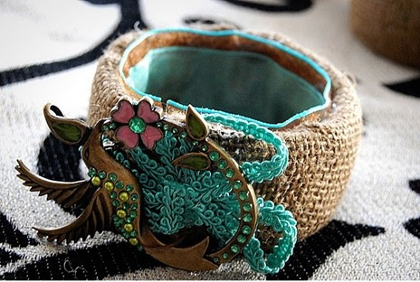 bracelet made of fabric