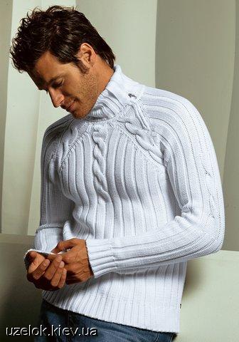 Мужской свитер-реглан