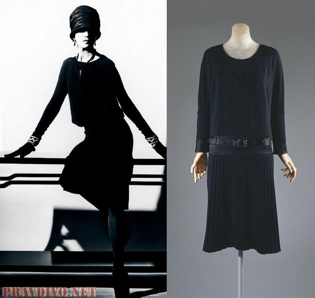 Шанель оригинал платье