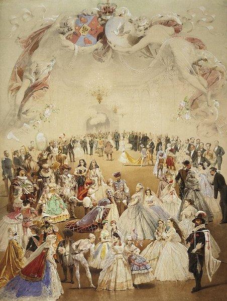 Балы и светские рауты во Франции и Европе