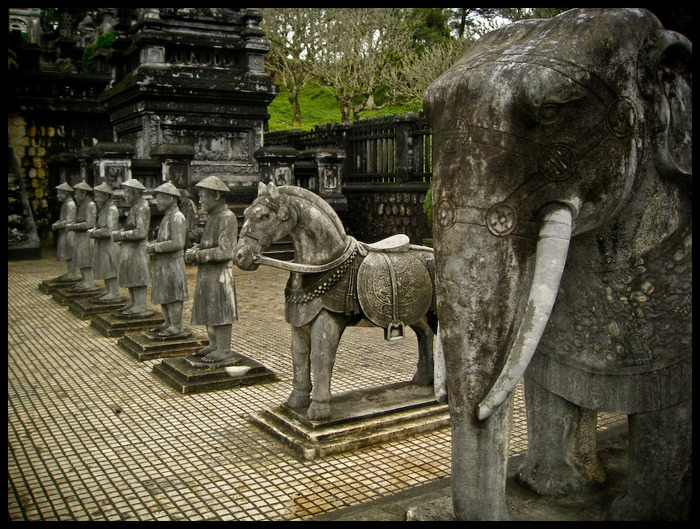 Мавзолей Кхай Динь -Tomb of Khai Dinh 74600