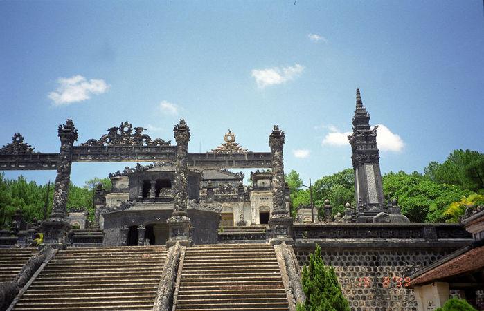 Мавзолей Кхай Динь -Tomb of Khai Dinh 43763