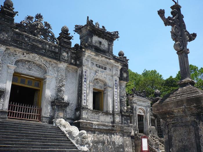 Мавзолей Кхай Динь -Tomb of Khai Dinh 90456