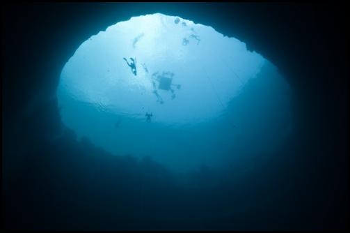Погружение в Синюю Дыру Декана (Dean's Blue Hole)