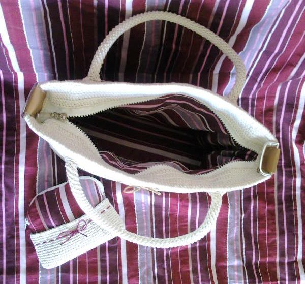حقيبة كروشية لسيدات.شنطة حلوة بالكروشية.طريقة شنطة كروشية جديدة 59948424_1275791260_
