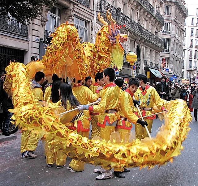 Китайский Новый год в Париже 15767