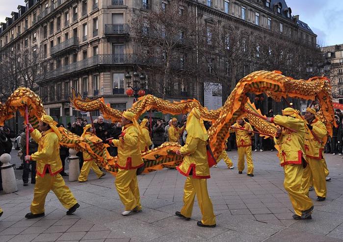 Китайский Новый год в Париже 23259