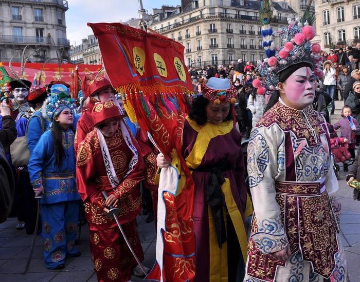 Китайский Новый год в Париже 47656