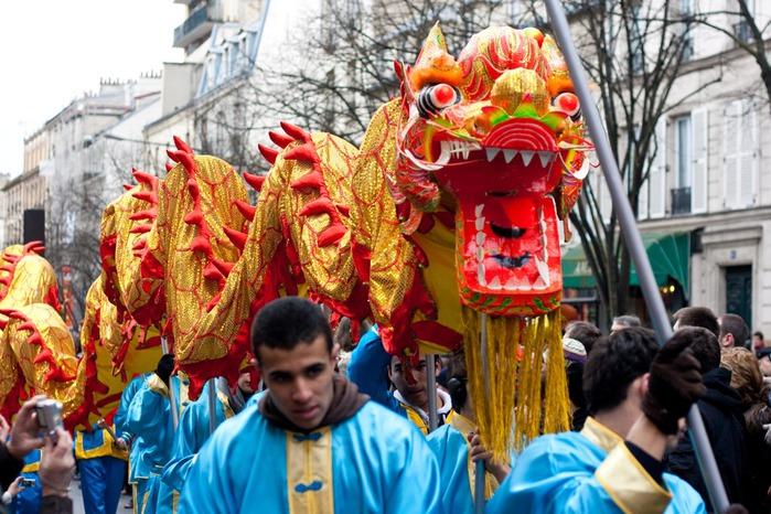 Китайский Новый год в Париже 21084