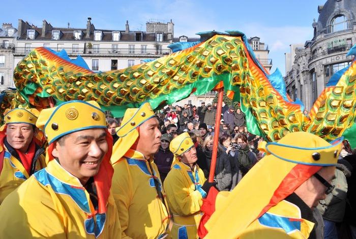 Китайский Новый год в Париже 57719