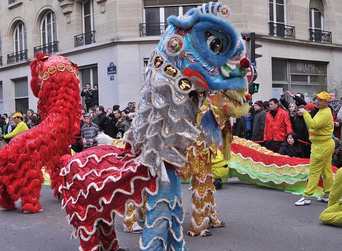Китайский Новый год в Париже 35429
