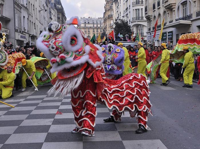 Китайский Новый год в Париже 85417
