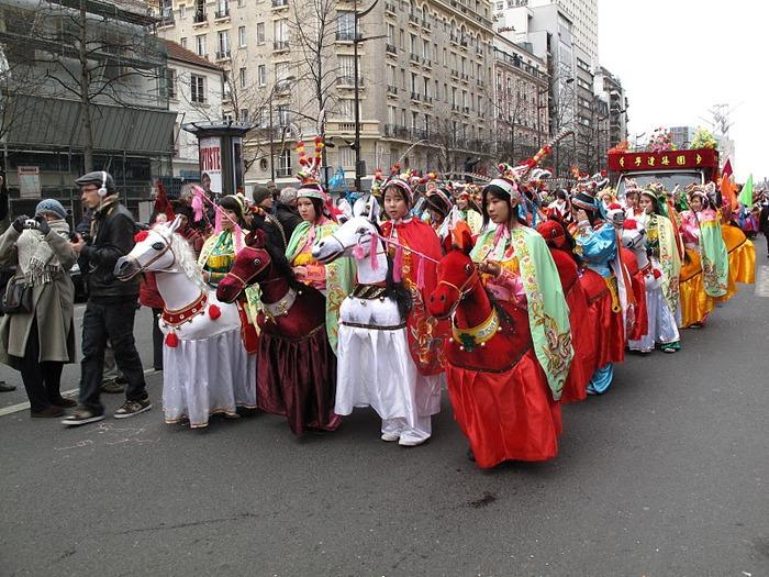 Китайский Новый год в Париже 18521