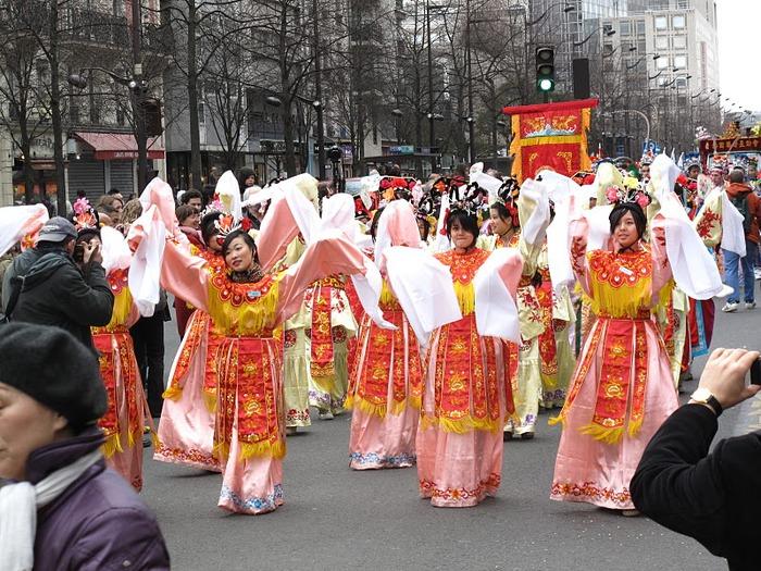 Китайский Новый год в Париже 59594