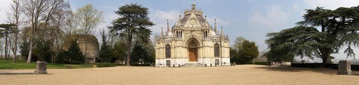 La chapelle royale de Dreux-Королевская капелла в Дрё 54891