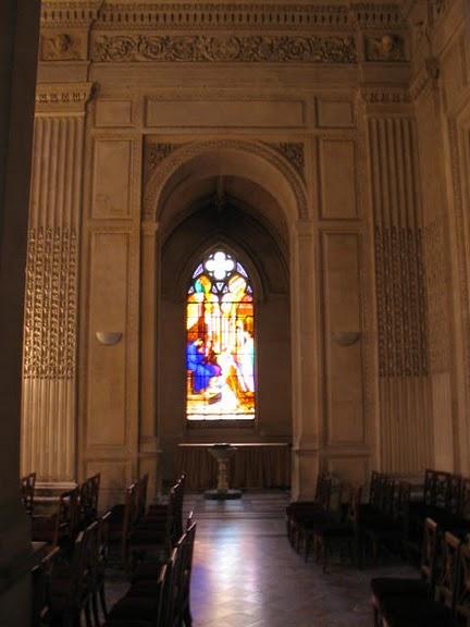 La chapelle royale de Dreux-Королевская капелла в Дрё 19541