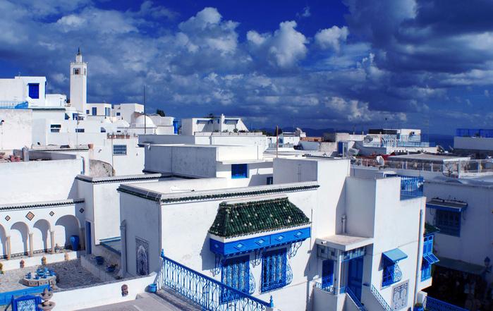 Тунис. Синий город - Sidi Bou Said 69956