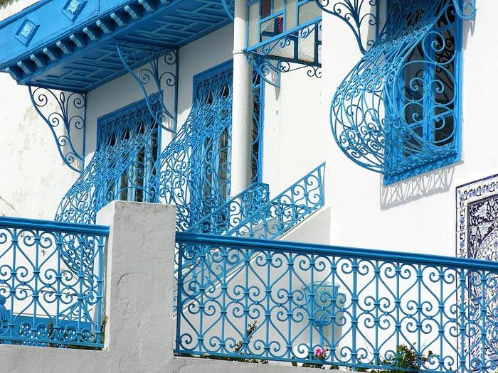 Тунис. Синий город - Sidi Bou Said 58839