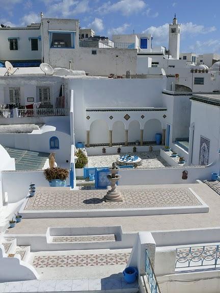 Тунис. Синий город - Sidi Bou Said 18314