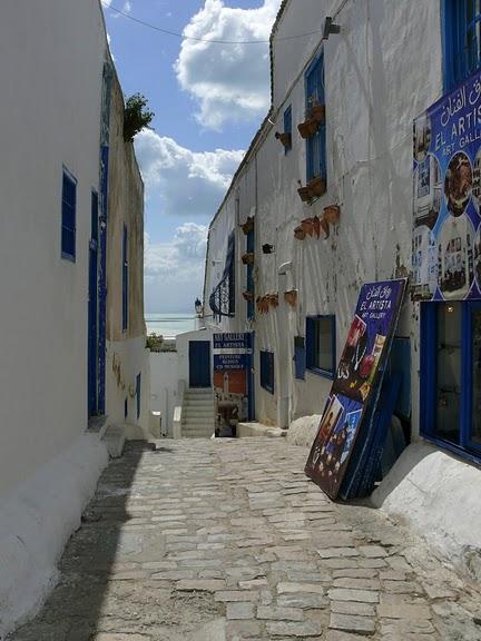 Тунис. Синий город - Sidi Bou Said 66735