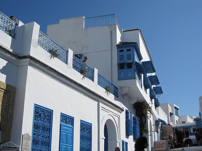 Тунис. Синий город - Sidi Bou Said 75651