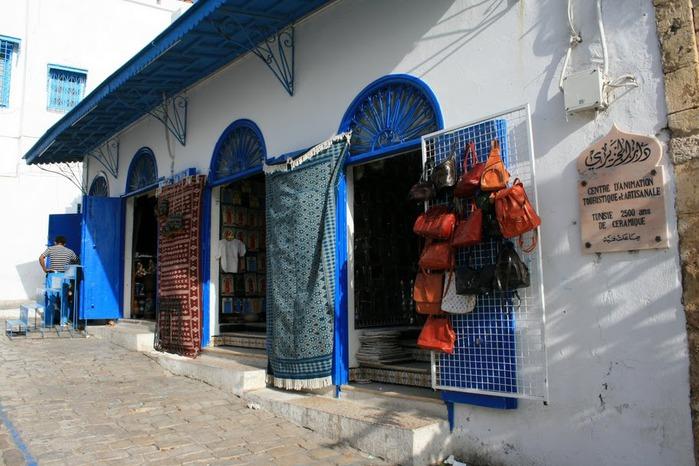 Тунис. Синий город - Sidi Bou Said 22523