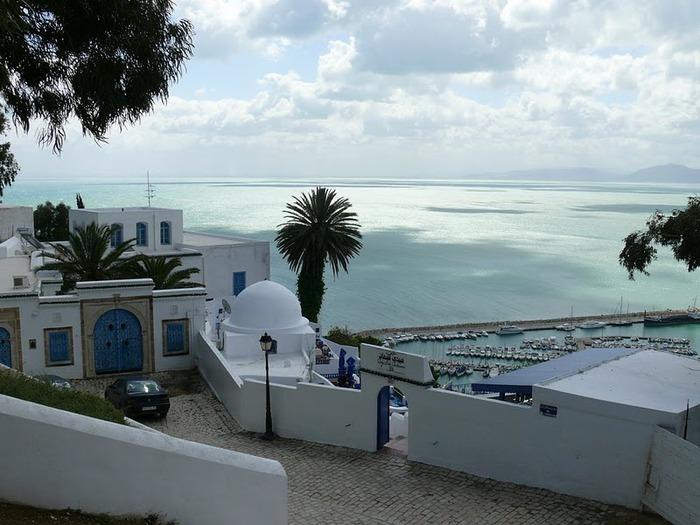 Тунис. Синий город - Sidi Bou Said 71764