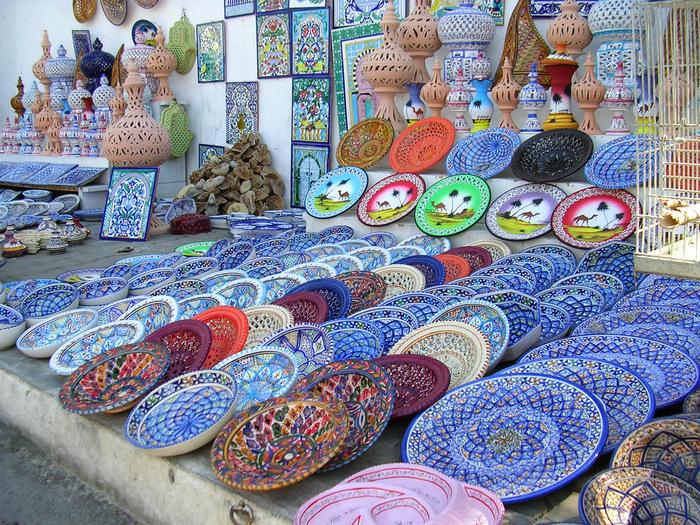 Тунис. Синий город - Sidi Bou Said 61374
