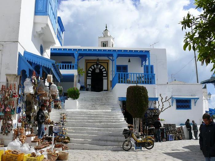 Тунис. Синий город - Sidi Bou Said 52233