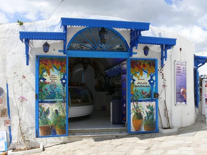 Тунис. Синий город - Sidi Bou Said 64948