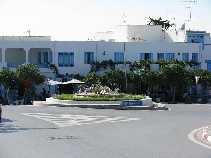 Тунис. Синий город - Sidi Bou Said 19210