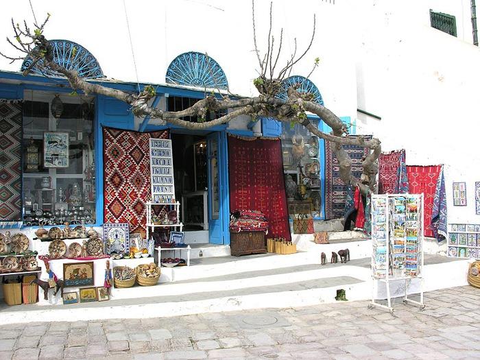 Тунис. Синий город - Sidi Bou Said 21070