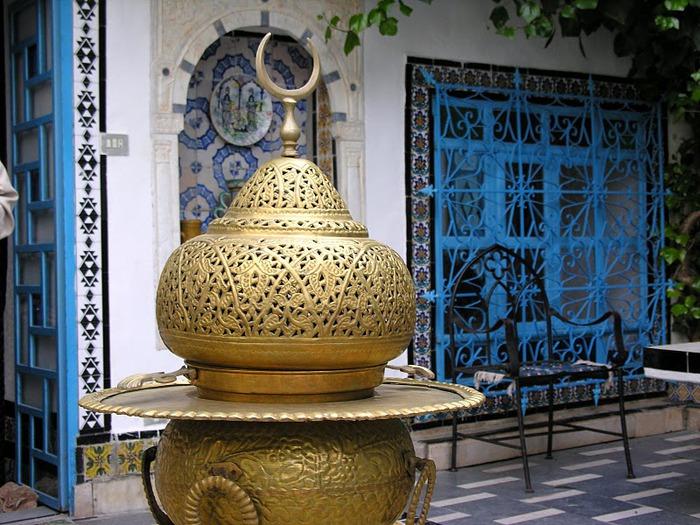 Тунис. Синий город - Sidi Bou Said 19004