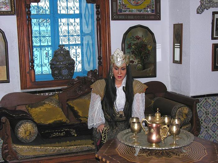 Тунис. Синий город - Sidi Bou Said 83642