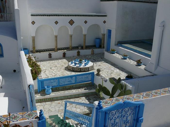Тунис. Синий город - Sidi Bou Said 24745