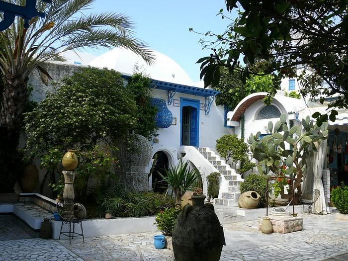 Тунис. Синий город - Sidi Bou Said 39426