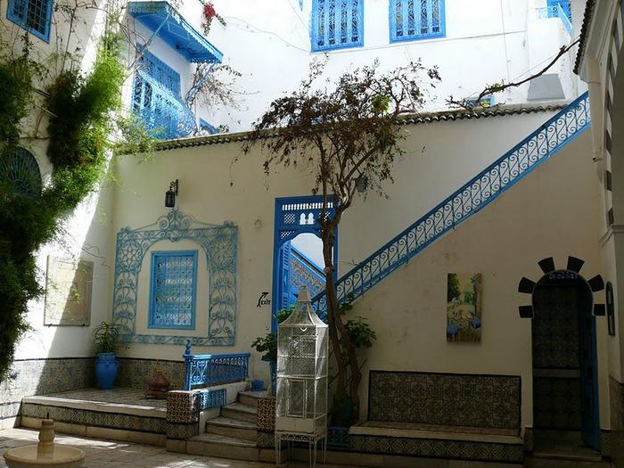 Тунис. Синий город - Sidi Bou Said 25555