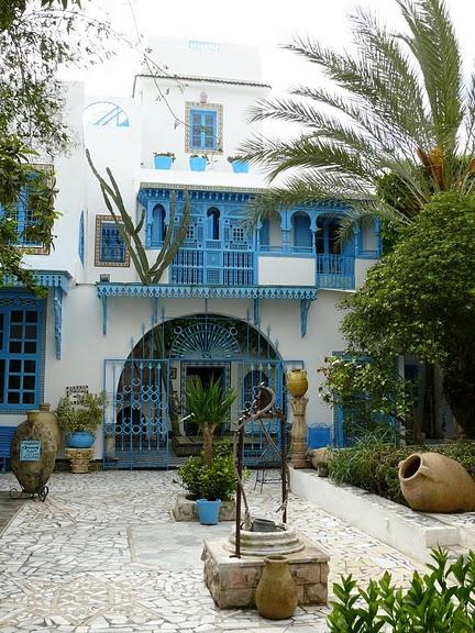 Тунис. Синий город - Sidi Bou Said 93065