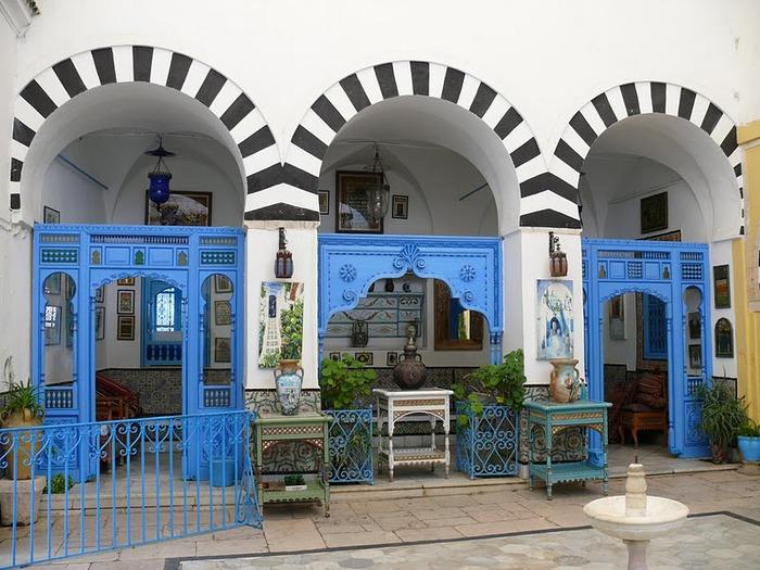 Тунис. Синий город - Sidi Bou Said 33543
