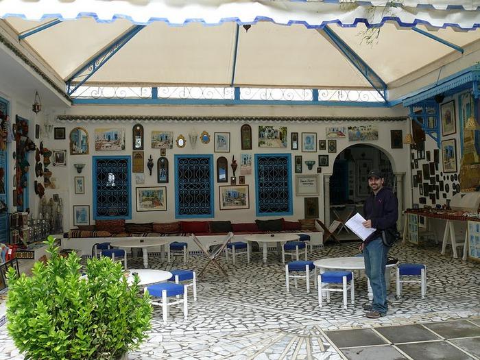 Тунис. Синий город - Sidi Bou Said 84411