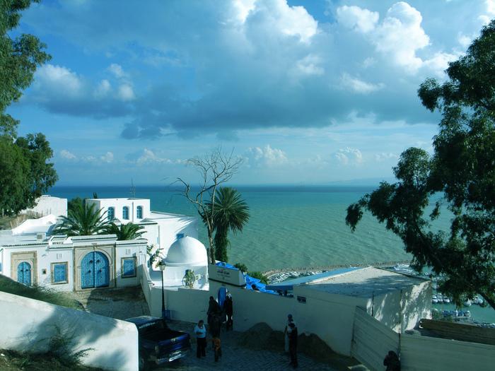 Тунис. Синий город - Sidi Bou Said 78979