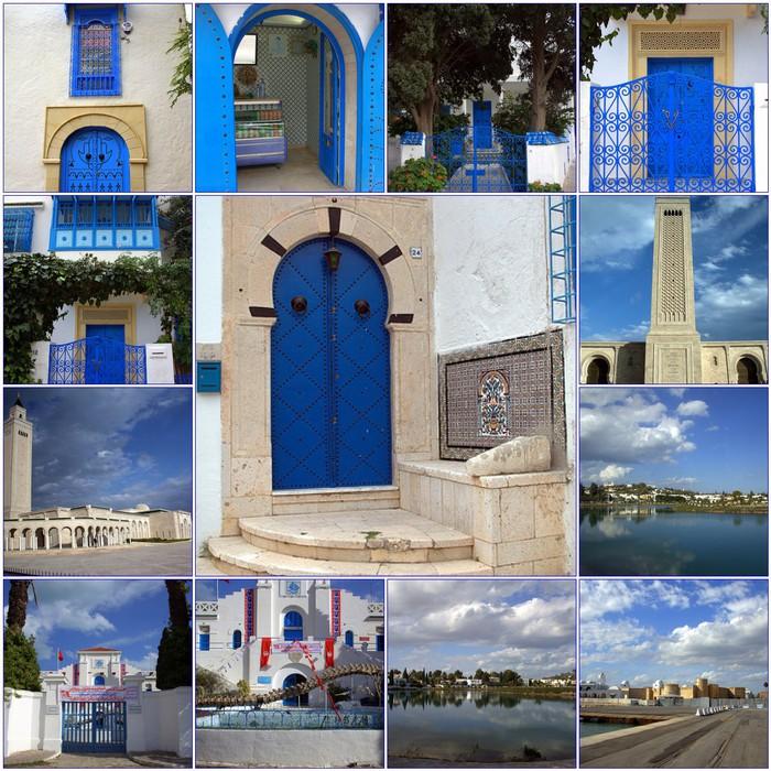 Тунис. Синий город - Sidi Bou Said 13150