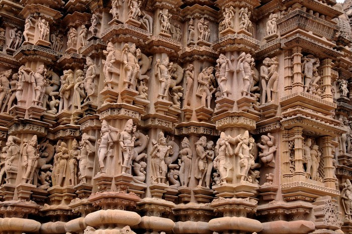 ИНДИЯ: Храмы Кхаджурахо (The Temples of Khajuraho) 39017