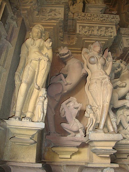 ИНДИЯ: Храмы Кхаджурахо (The Temples of Khajuraho) 12457